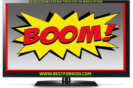 Install Guide Big Boom Kodi Addon Repo