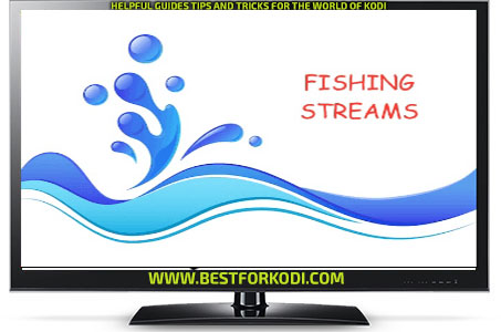 Guide Install Fishing Streams Kodi Addon Repo