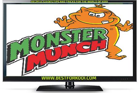 Guide Install Monster Munch Kodi Addon Repo