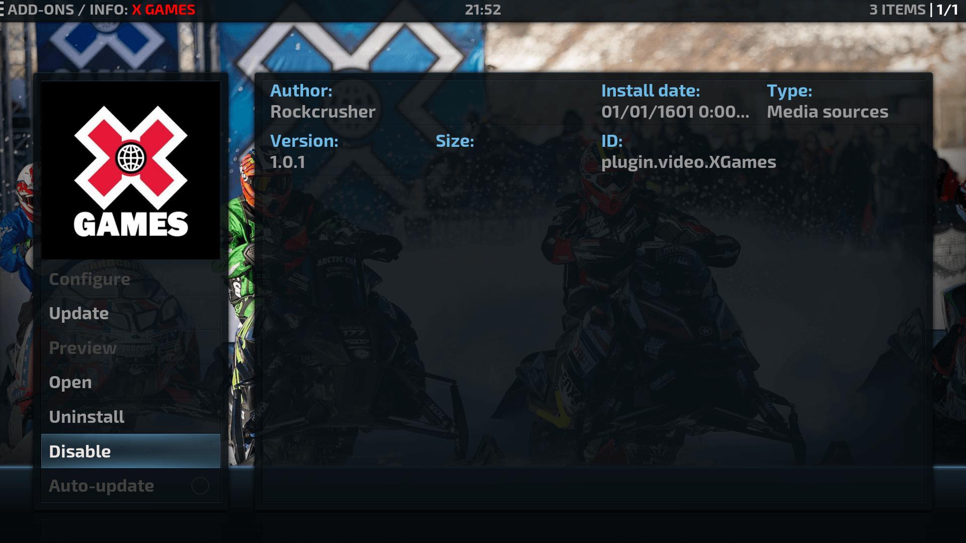 Guide Install X Games Kodi Addon Repo - Rockcrusher