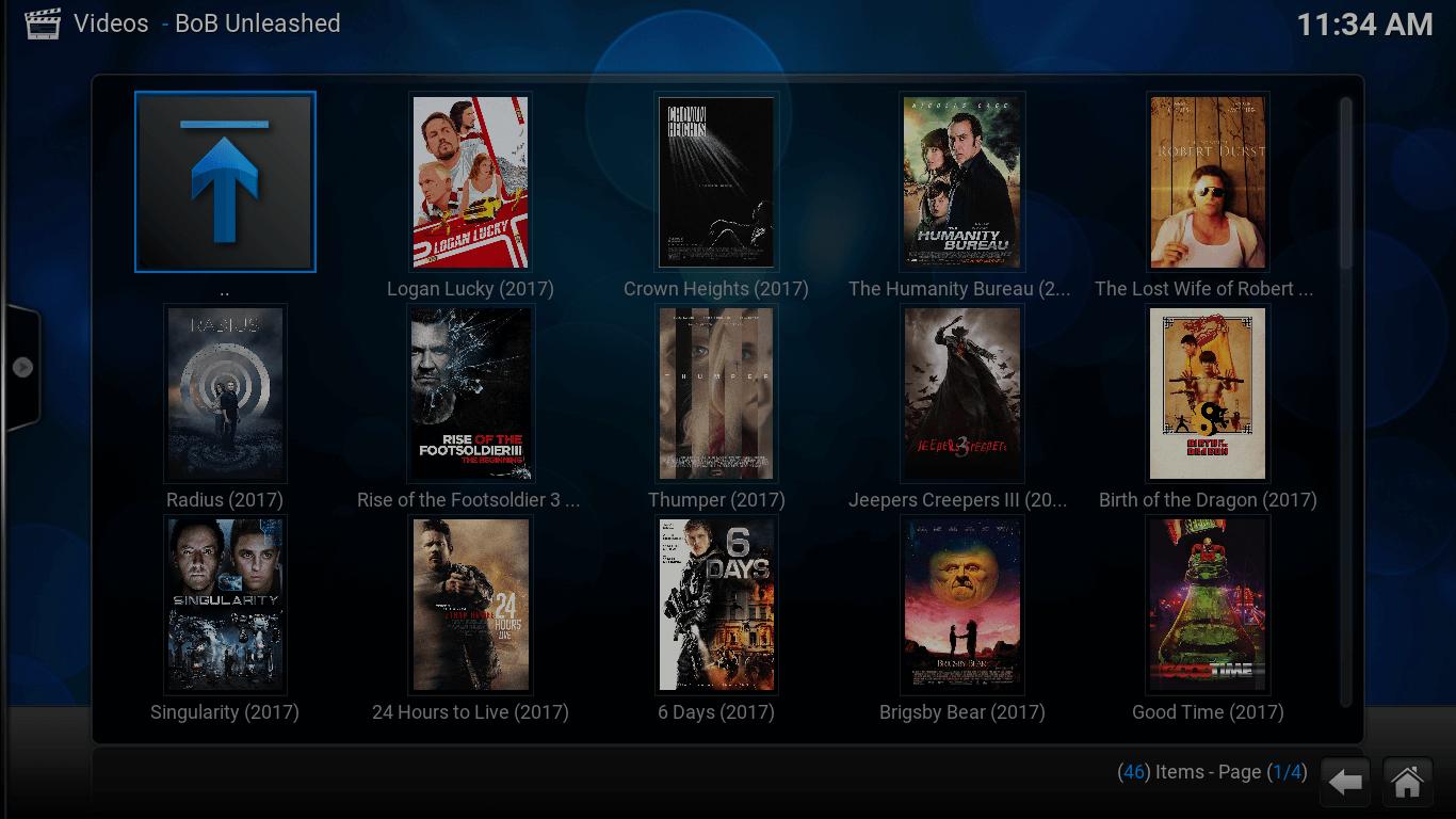 turner classic movies on kodi