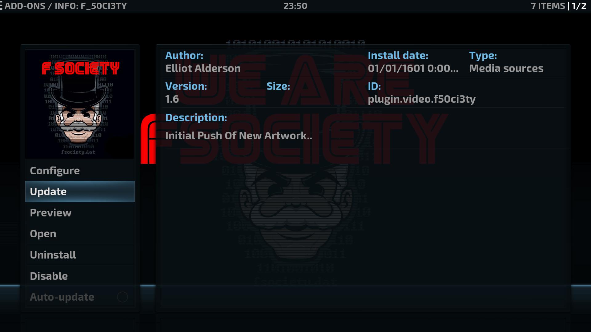 Guide Install F Society Kodi Addon Repo
