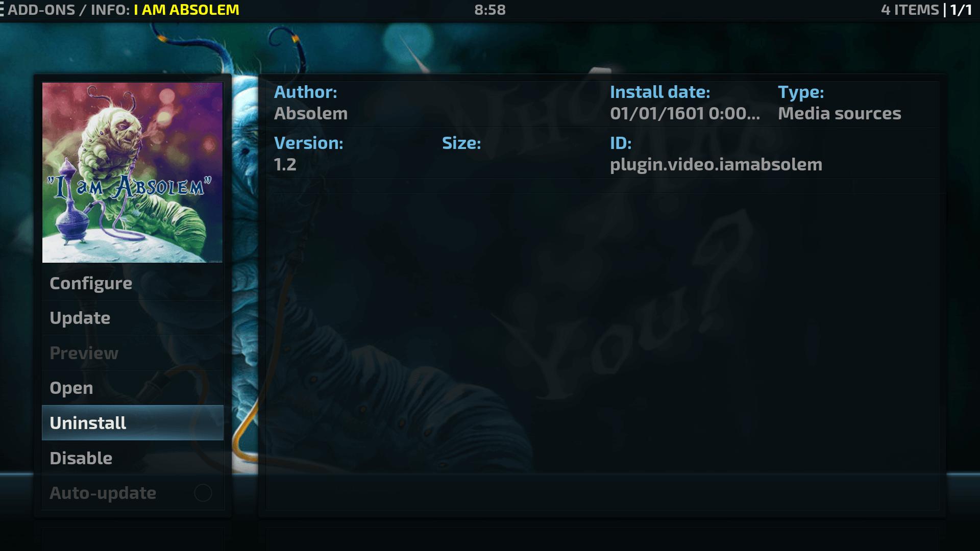 Guide Install I am Absolem Kodi Addon Repo