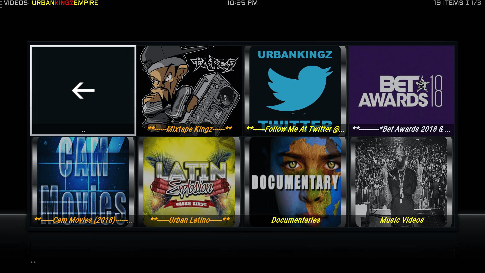 Guide Install UrbanKingz Empire Kodi Addon Repo