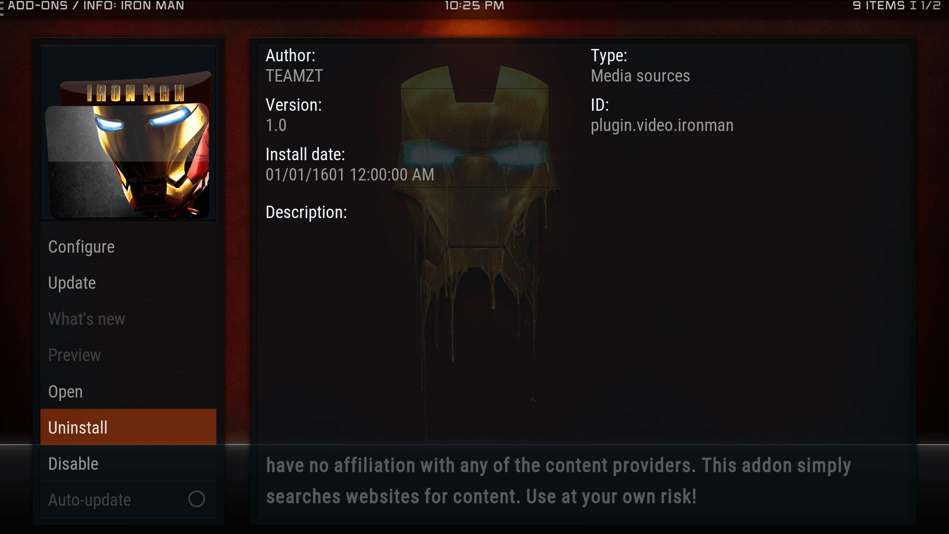 Guide Install Iron Man Kodi Addon Repo