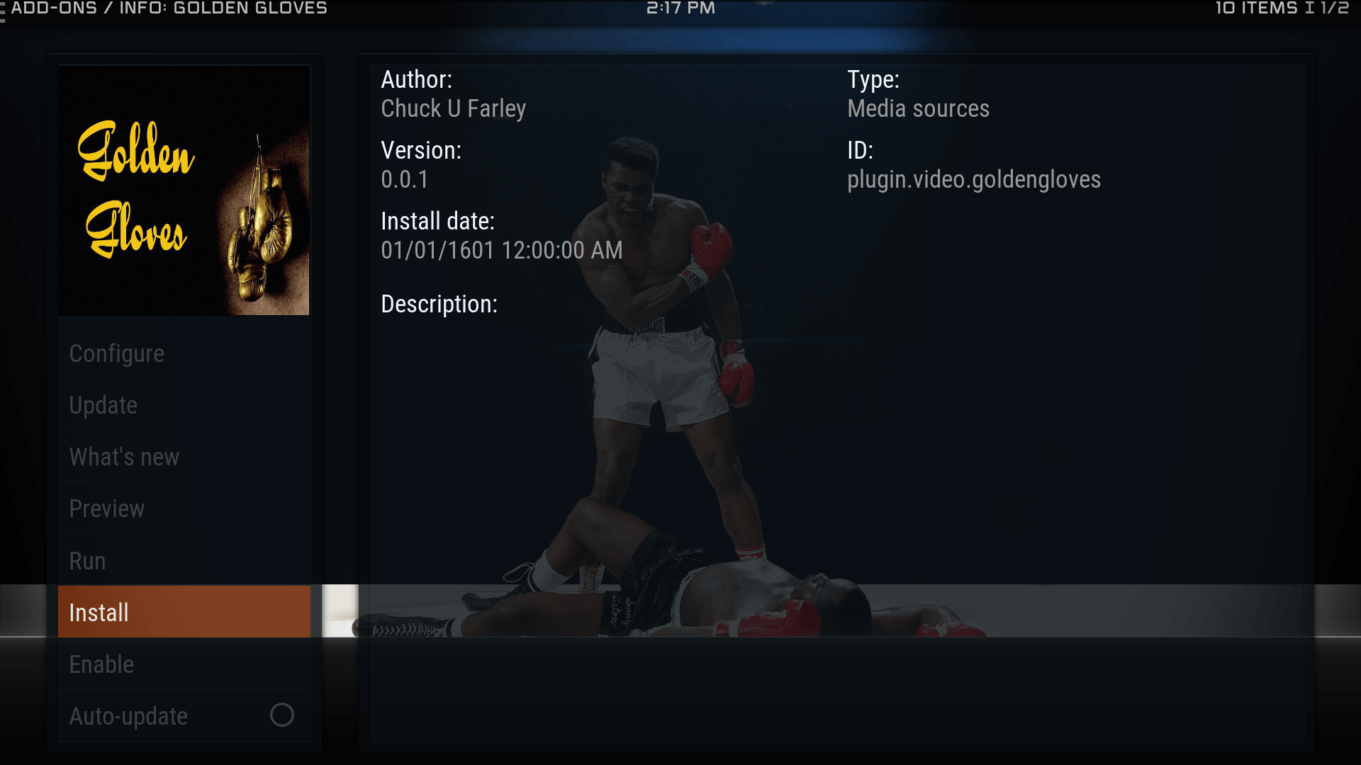 Guide Install Golden Gloves Kodi Addon Repo