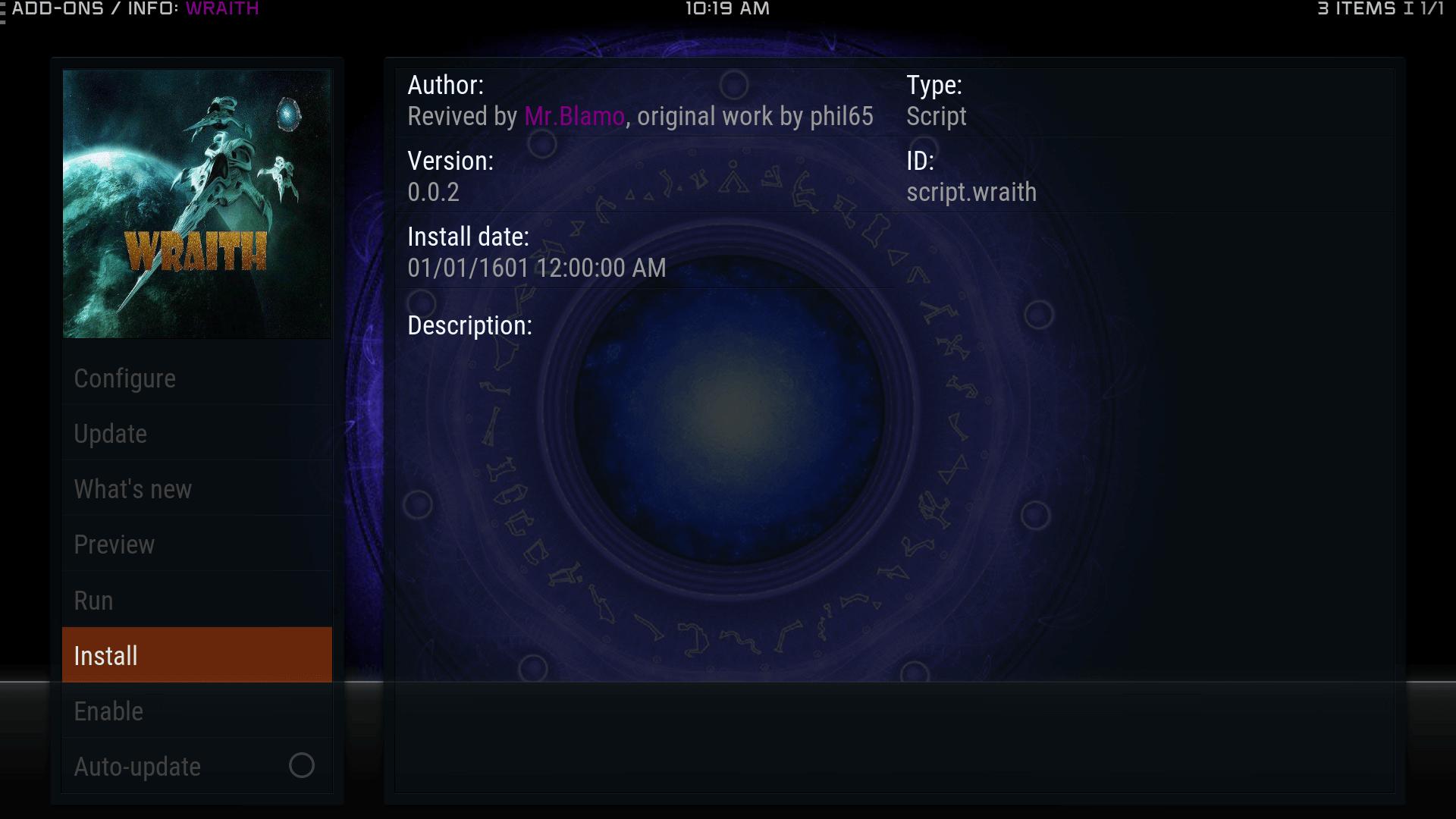 Guide Install Wraith Kodi Addon Repo