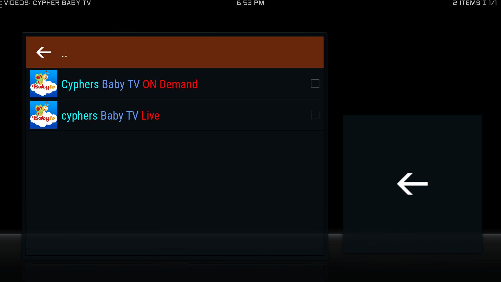 Guide How to Install Baby TV Kodi Addon Repo