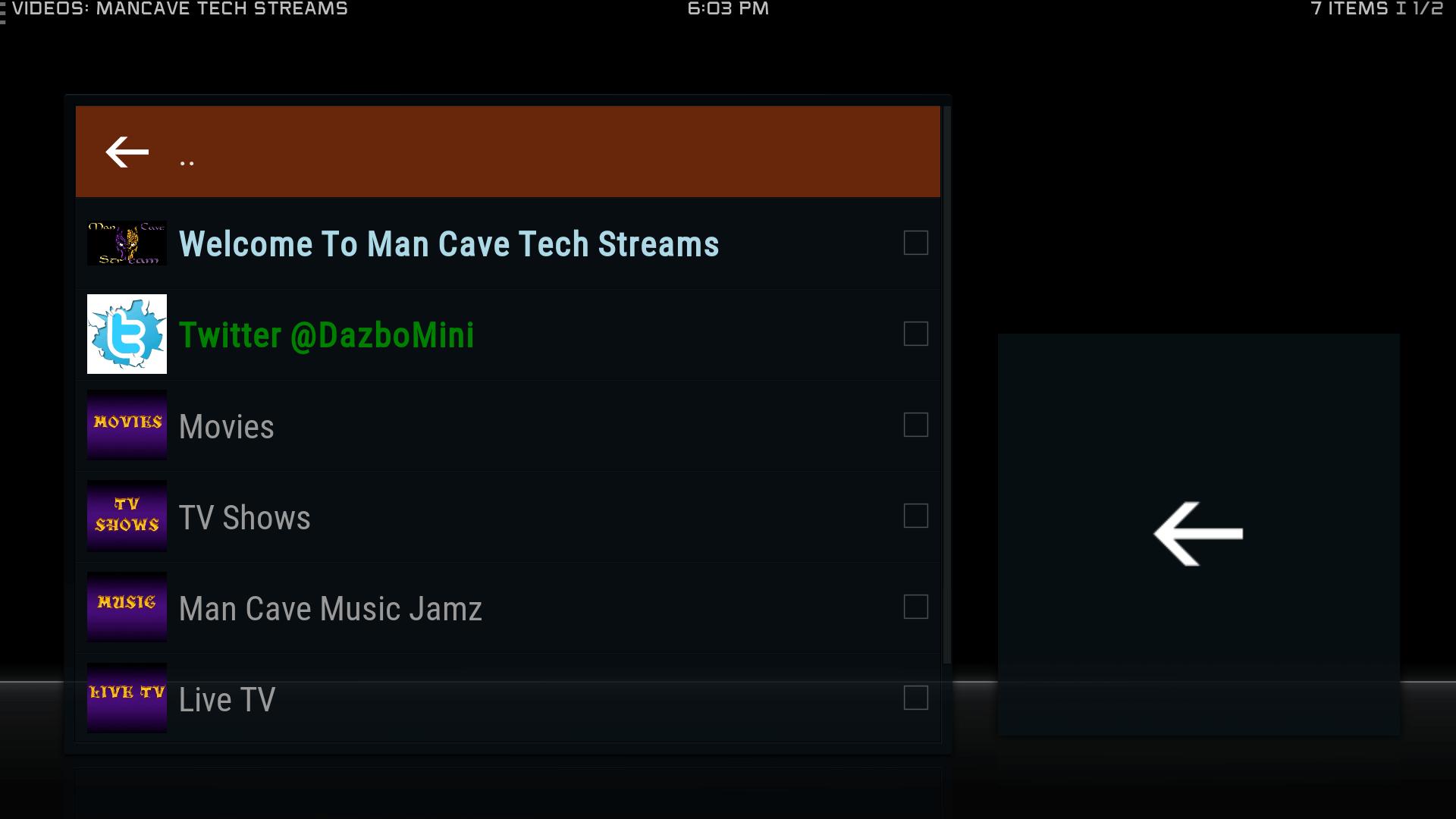 Man Cave Repo : Guide install mancave tech streams kodi krypton addon repo