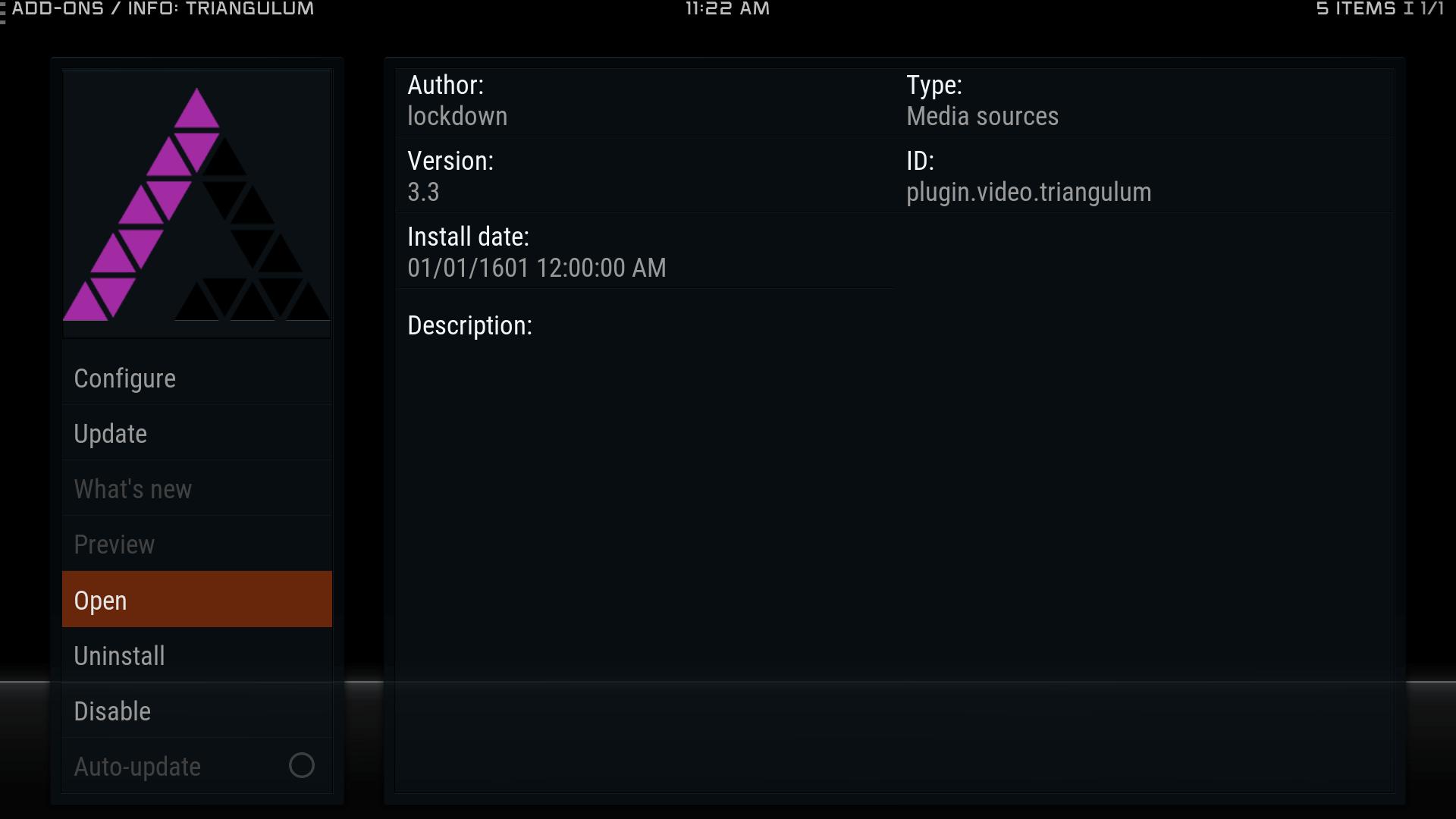Guide Install Triangulum Kodi Krypton Addon Repo - Exodus FORK