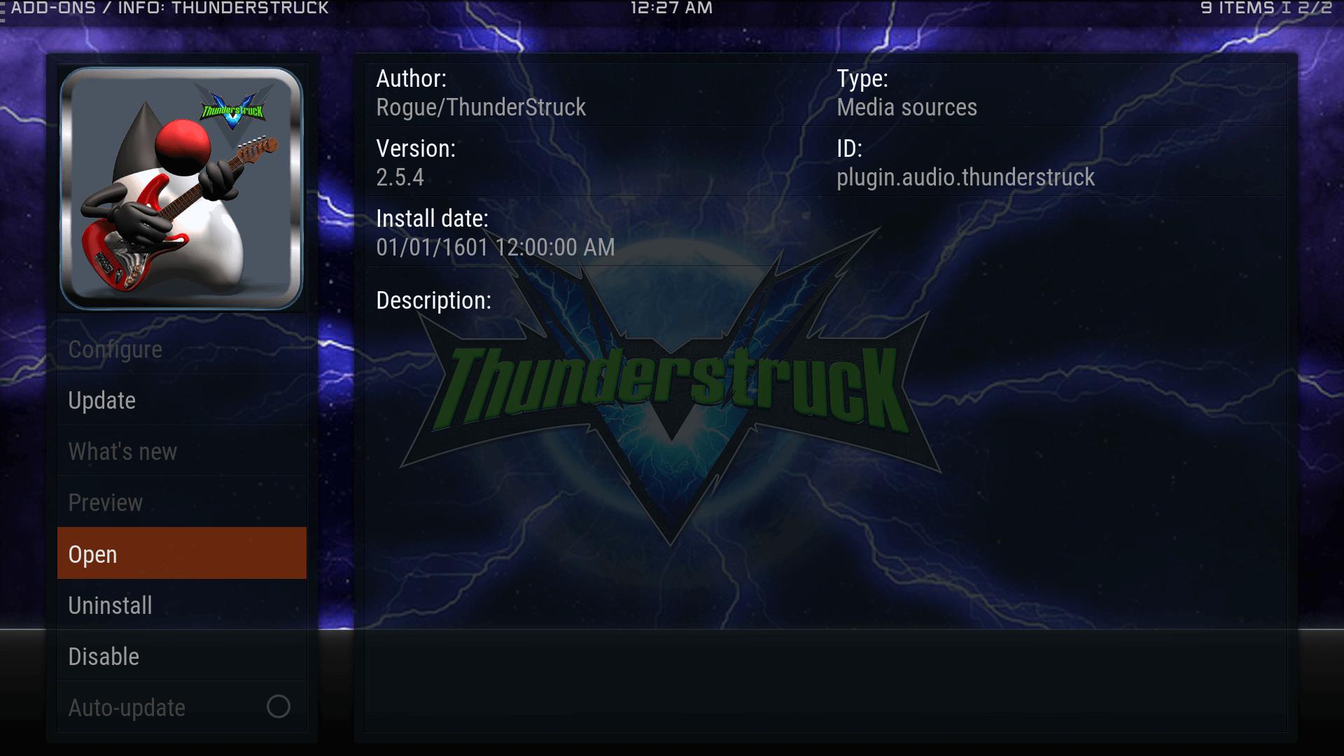 Guide Install ThunderStruck Kodi Krypton Addon Repo