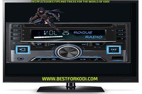Install Guide Rogue Radio Kodi Addon Repo