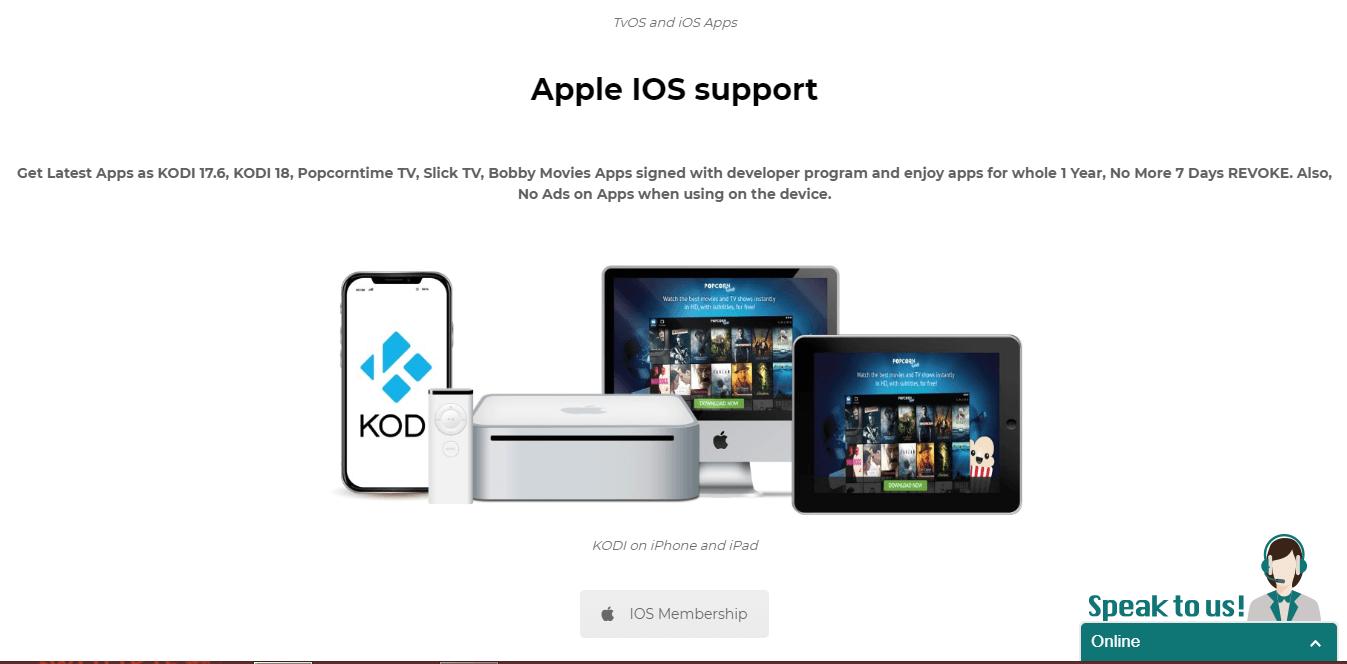 Guide Appipa New Apple kodi product Signing Service
