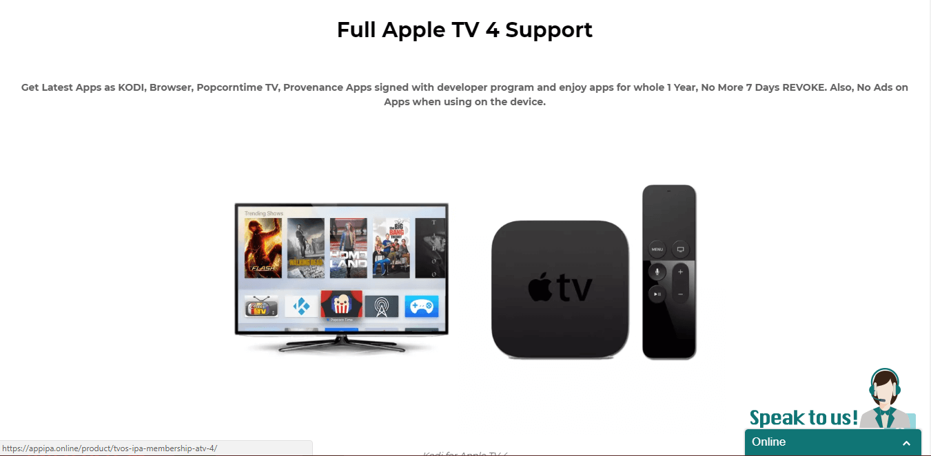 Guide Appipa New Apple kodi product Signing Service