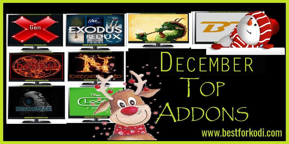 Best Kodi Addons for December 2018 - 100% Working
