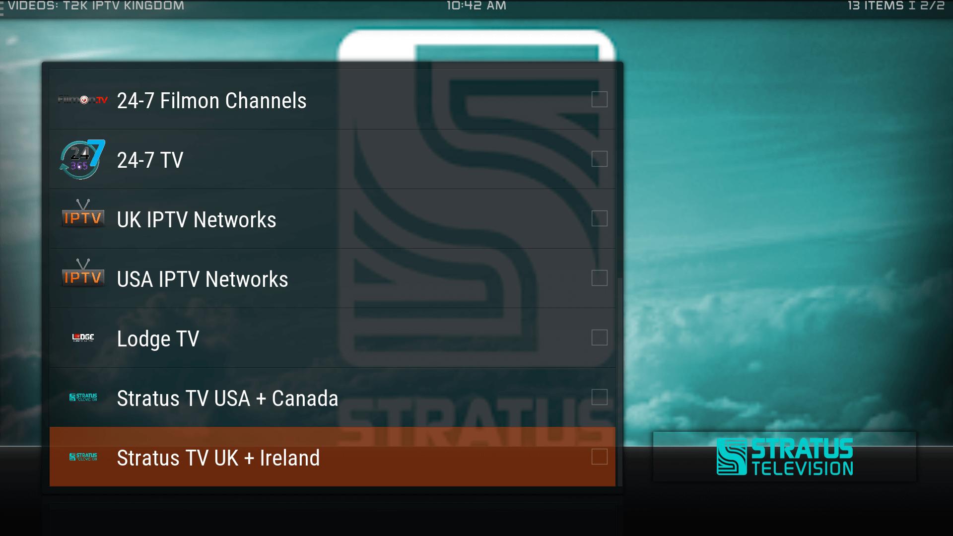 Guide Install TK2 IPTV Kingdom Kodi Addon Repo - Best for Kodi