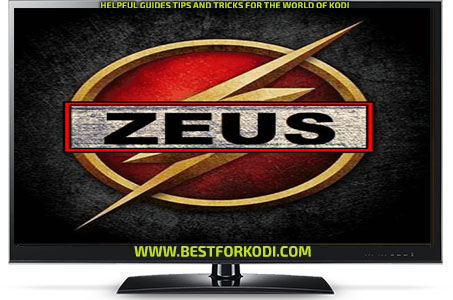 Guide Install Zeus Tv Kodi Addon Repo - Best for Kodi