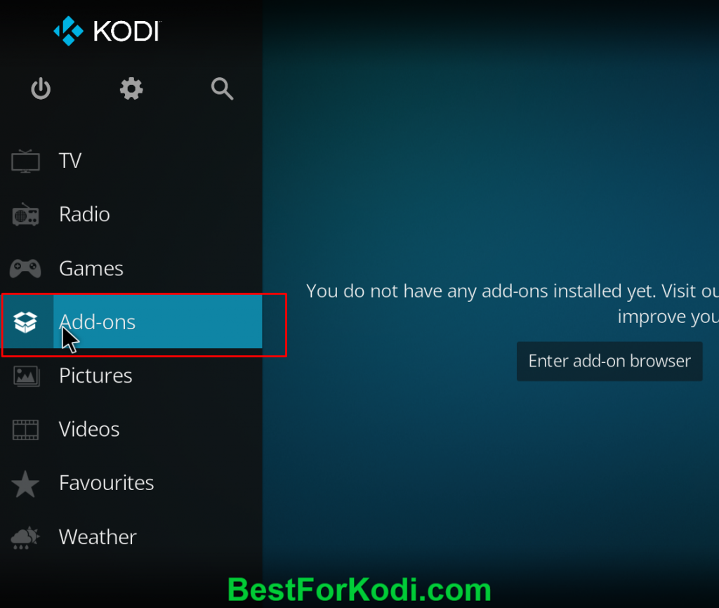 How to install sport hd addon