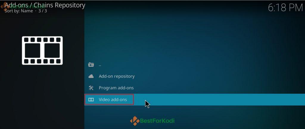 How To Install Chains Kodi Addon
