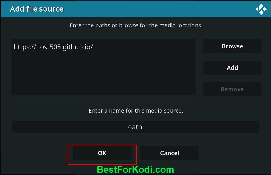 How to Install TheOath Kodi Addons