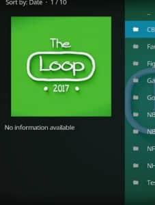 The Loop Kodi Addon